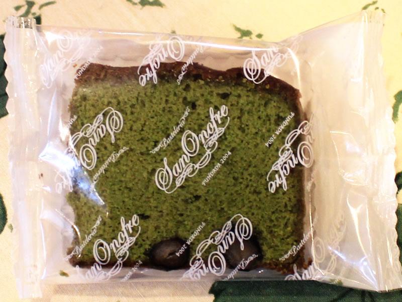スペイン菓子専門店サン・オノフレ|ビスコッチョ抹茶