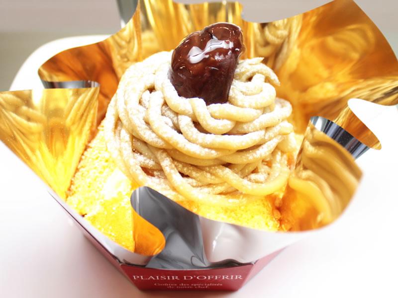 スペイン菓子専門店サン・オノフレ モンブラン