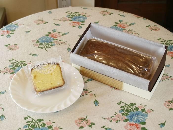 ブランデーケーキ 長崎のスペイン洋菓子のサン・オノフレ