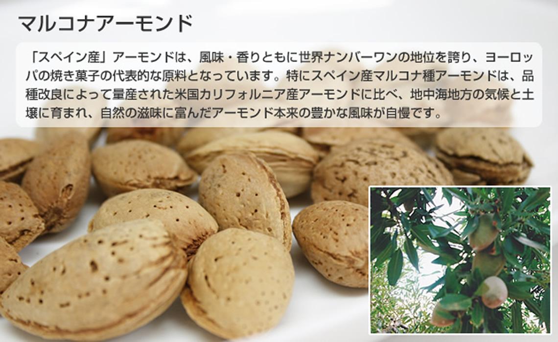マルコナアーモンド|長崎のスペイン洋菓子のサン・オノフレ