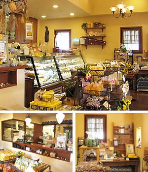 サン・オノフレ店内|長崎のスペイン洋菓子のサン・オノフレ