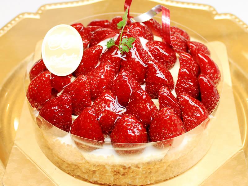 【季節限定】苺のサンディアゴタルト