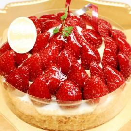 スペイン菓子専門店サン・オノフレ|苺のサンディアゴタルト
